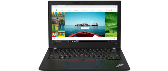 Lenovo ThinkPad X280 w taniej konfiguracji to nadal czytnik linii papilarnych, który to wraz z kodem PIN na cztery cyferki akuratnie zabezpiecza nasze pliki i dane